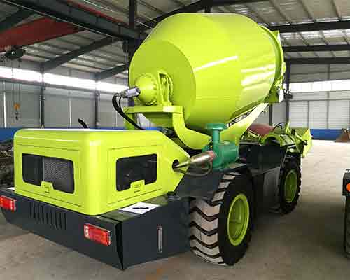 Mobile concrete mixer for sale in Thailand